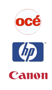 authorized OCE, HP and Canon service and sales